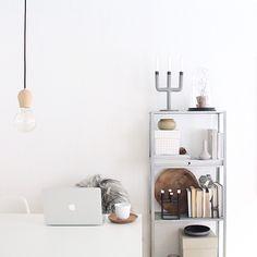 Ikea 'Hyllis' shelf @mikkeldahlstroem