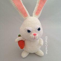 The Secret Life of Pets Crochet Patterns Combo Pack - Max/Snowball/Mel/Gidget…