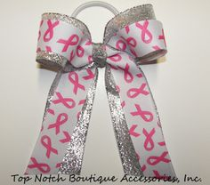 Breast Cancer Awareness Ponytail Holder