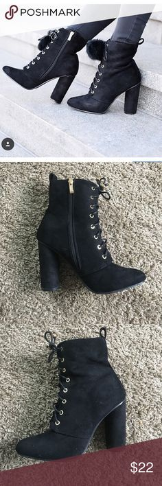 Catherine Malandrino Booties Worn only a handful of times, still in excellent shape Catherine Malandrino Shoes Ankle Boots & Booties