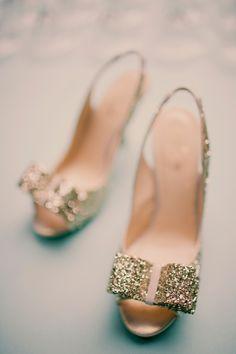 Kate Spade Gold Glitter Heels  http://www.hotchocolates.co.uk http://www.blog.hotchocolates.co.uk