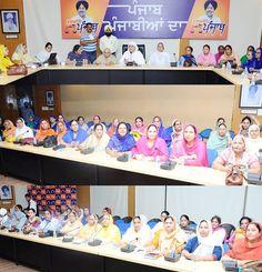 Women playing an active role in the progress momentum of Punjab by being a part of Istri Akali Dal. A glimpse of Istri Akali Dal meeting led by Bibi Jagir Kaur. #progressivepunjab #akalidal
