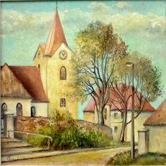 Kostelík v Hostivici