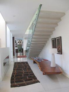 casa Patio.  Detalle bajo escalera.  Barrionuevo Sierchuk arquitectas