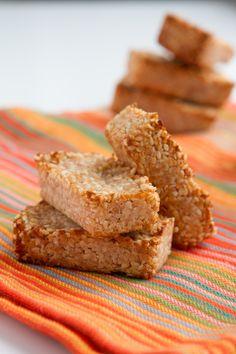 4-Ingredient Keto Cookie Bars (Low-Carb, Vegan, Paleo + Sugar-free)