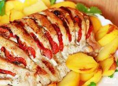 Мясная гармошка - вкусное и красивое блюдо из свинины для праздничного стола. Такое мясо приготовить очень просто, а гости будут в восторге. Нежное и сочное мясо, запеченное в фольге и предварительно…