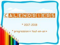 2017-2018 : des calendriers et des trames de progressions ... - Maikresse72