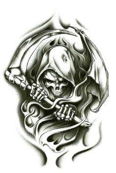 "Grim Reaper Wraith Temporary Body Art Tattoos 2.5"" x 3.5"" TMI,http://www.amazon.com/dp/B009583O7O/ref=cm_sw_r_pi_dp_I-8Rqb1017R3PGNV #grimreaper #tattoos #bodyart"