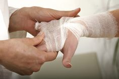 hand therapy wound care