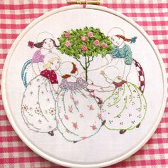 Rosie Posie Stitchery hand embroidery pattern by BustleandSew