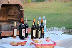 Our guests have requested a wine tasting here at the Casale La Collina, and it was a success! All had a great time!