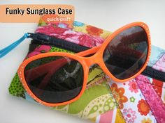 Funky Sunglass Case Carrier - The Sewing Loft