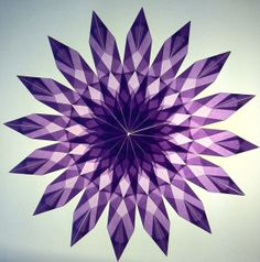 Lavender Suncatcher Design 1 12 inches 30cm by HouseoftheFoldedSun, $21.00