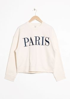 & Other Stories | Embroidered Paris Pullover