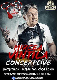Mircea Vintila canta LIVE la Legend Iasi