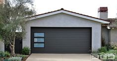 Modern Garage Door & Gate Project for an Eclectic Designed Home in Newport Beach - contemporary - garage and shed - orange county - Dynamic ...