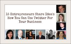 15 Entrepreneurs Share Different Ways you Can Use #Twitter to Help Grow your #Business  - Do you have a tip not shared? Lets connect for a Podcast Interview to help Small Business Owners