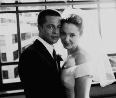 Brad Pitt Angelina Jolie Wedding | brad pitt wedding to angelina