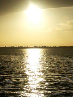 Por do sol em Belém do Pará.