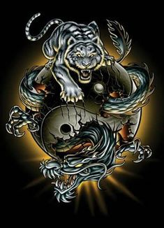 Dragon-Tiger, Yin-Yang.
