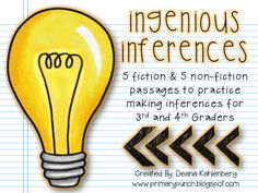 Primary Punch: Ingenious Inferences