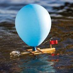 Rubberband Powered Wooden Paddleboat – Nova Natural Toys & Crafts