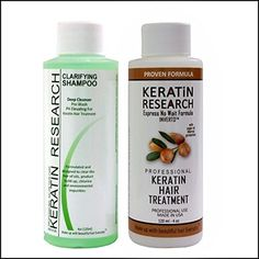 Brazilian Keratin Blowout Hair Treatment 4 Bottles 300ml Value Kit Includes Sulfate Free and Easy Comb