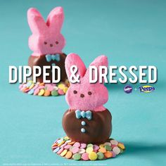 Easter Peeps are sweeter with Wilton Candy Melts!