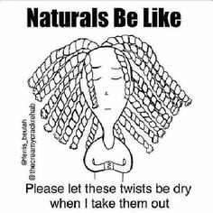 Lol. I sincerely hope all last night's prayers were answered. Reposted from @joannaen. #teamnatural #natural #naturalhair #naturalhairproblems #twists #twistout