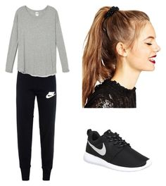 """Untitled #28"" by malineiksa on Polyvore featuring NIKE and ASOS"