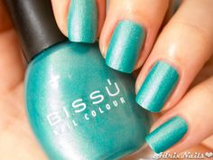 Bissú -Metal Mate Aqua- #nails #nailart #nailpolish #nailpolishswatches #metalmate