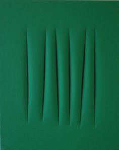 Lucio Fontana, 'Concetto Spaziale,' 1965, Galerie Hans Mayer