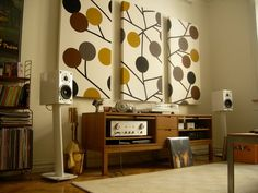 IKEA Stockholm TV bench for the record player