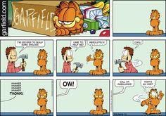 Garfield Comic Strip, July 05, 2015 on GoComics.com
