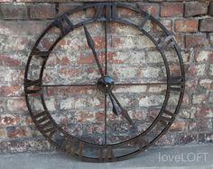 Znalezione obrazy dla zapytania zegary industrialne