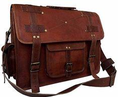 VINTAGE COUTURE 16 Inch leather messenger bags for men women mens briefcase  laptop bag best computer shoulder satchel school distressed bag 0fce7aa52791f