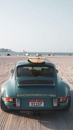 Vintage Porsche, Vintage Cars, Porsche 911, Sport Cars, Race Cars, Singer Vehicle Design, Lux Cars, Pretty Cars, Classy Cars