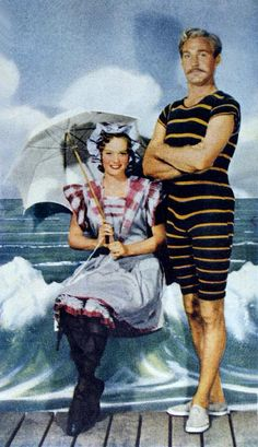 #vintage #fashion #history...times change and so do swimsuit styles..too funny..and to see the beachwear now. WOW!!!