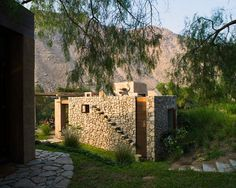 Taş ve kerpiçten modern mimariye: Taş ev - Görsel 11