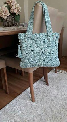 Marvelous Crochet A Shell Stitch Purse Bag Ideas. Wonderful Crochet A Shell Stitch Purse Bag Ideas. Crochet Tote, Crochet Handbags, Crochet Purses, Crochet Stitches, Knit Crochet, Purse Patterns, Knitted Bags, Crochet Accessories, Crochet Designs