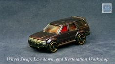 TOMICA 084E TOYOTA HILUX SURF #WHEELSWAP #LOWDOWN #CHAMELEON | v.77 | GOLD RING