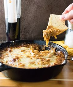This Baked Caramelized Onion Dip with Gruyere Cheese has just the ...
