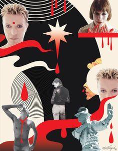 BLEED LIKE A CRAZE, DAD - Album: Buddha of Suburbia, 1993. David Bowie Art by Maia Valenzuela