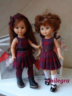 En esta ocasión os traigo un básico para nuestra muñeca Nancy   Mis modelos les valen perfectamente tambien a Las Pepas y a las Maris n...