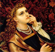 Emma Sandys (English, 1843-1877). Elaine, 1862-65