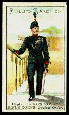 Cigarette Card - King's Royal Rifle Corps