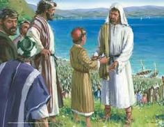 Image result for feeding the 5000 bible story
