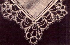 New Crochet Lace Edging Hankerchief Ideas Crochet Baby Shoes, Crochet Baby Clothes, Crochet Hats, Crochet Coaster Pattern, Crochet Lace Edging, Tatting Patterns, Crochet Patterns, Crochet Buttons, Vintage Crafts