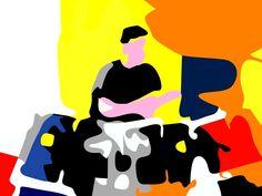 Norman, Donald Duck, Disney Characters, Fictional Characters, Core, Digital Art, Disney Face Characters