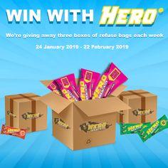 1 Lucky Winner Will Win 700 Worth Of Hero Refuse Bags Weekly